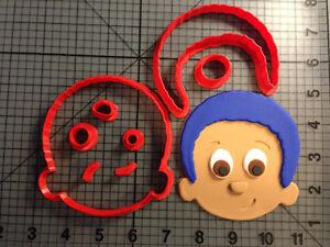 Cartoon Character 180 Cookie Cutter Set