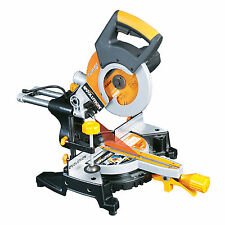 EVOLUTION RAGE 3 s CHOP SAW SLIDING COMPOUND MITRE 240V
