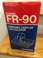 1980s Vintage Casio Fr-90 Desktop Printing / Display Calculator - New (Other)