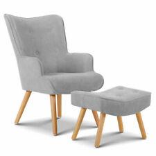 Artiss UPHO-B-ARM05STO-LI-GY Armchair - Light Grey