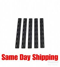 Bravo Company BCMGunfighter 5.5 inch M-lok Rail cover 5 Pack BCM-MCMR-RP-BLK-5