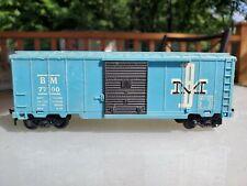 Marx Boston Maine Bm 77000 Box Car - Ho Scale