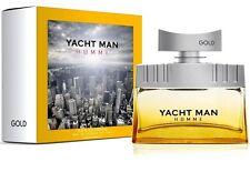 YACHT MAN™ GOLD Eau de Toilette for Men 100 ml Spray Made in Switzerland NEU OVP