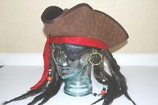 Pirate Bandana with Earing & Eye Patch. FREE POST.