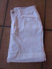 Gloria Vanderbilt size 6P white Capri cropped petite pants