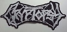 CRYPTOPSY  EMBROIDERED BACK PATCH