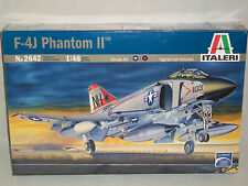 Italeri 1/48 Scale F-4J Phantom II - Factory Sealed