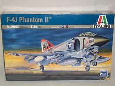 Italeri 1/48 Scale F-4J Phantom II - Factory Sealed