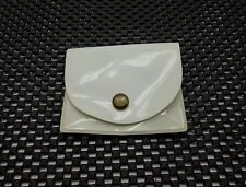 Vintage Gillette Travel Tech Double Edge Safety Razor Case White Plastic