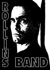 7961 Rollins Band Punk Rock Alternative Henry Spoken Word 90s Sticker / Decal