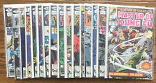 Lot Of 16 Master Of Kung Fu (Marvel,1979-1981) #1,78,79,82,89-100 Bronze Age=