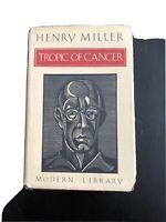 Vintage Henry Miller Tropic of Cancer Hardcover