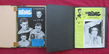 boxe / L'officiel international du RING   N° 1 de 1949 au  N° 102-103  de 1957