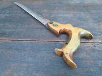 Vintage Keyhole Saw with Mahogony Handle - Fitzwilliam of Sheffield
