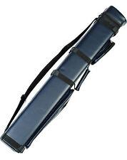 3X6 Hard Pool Cue Billiard Stick Carrying Case Blue 3 x 6