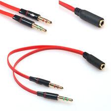 CABLE ADAPTATEUR SPLITTER VERS PC POUR CASQUE MICRO STEELSERIES SIBERIA V3 ELITE