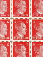 Stamp Germany Mi 788 Sc 511B Sheet 1941 WWII Fascism War Era Hitler MNH