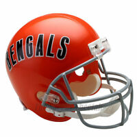 CINCINNATI BENGALS 68-79 THROWBACK NFL FULL SIZE REPLICA FOOTBALL HELMET
