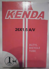 BICI KENDA CAMERA D'ARIA 26 x 1.5 Valvola Schrader