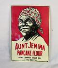 Aunt  Pancake Flour Tin Litho Sign 9 x 13 Kitchen Baking Sign