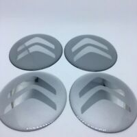 Stickers silicone centre jante moyeu de roue pour CITROEN 4 x 60mm