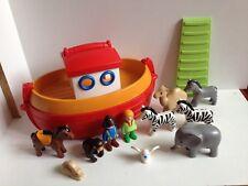 playmobil 1-2-3 6765 FLOATING TAKE ALONG NOAHS ARK