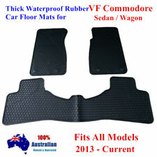 Rubber Floor Mats Tailor Made For Holden Commodore VF 2013 - 2018 Sedan / Wagon