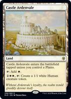 Castle Ardenvale x4 Magic the Gathering 4x Throne of Eldraine mtg card lot