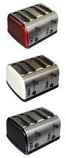 Toaster Edelstahl Toaster  4 Scheiben Sandwichtoaster Toastautomat Röster 1500 W