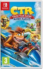 Crash Team Racing CTR Nitro-Fueled Nintendo Switch Game NEW