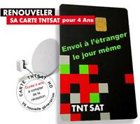 CARTE TNTSAT nouvelle génération V6, tous récepteurs TNTSAT, satellite Astra