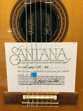 Carlos Santana's Guitar for Sale Gibson 1982' Chet Atkins Electric Acoustic