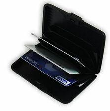 Black Durable Plastic Business Name Credit ID Licence Card CASE Holder SKU1437