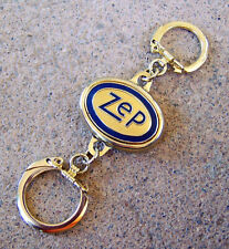 Vintage ZEP Manufacturing Co. DOUBLE-ENDED KEYCHAIN Center is Magnetic
