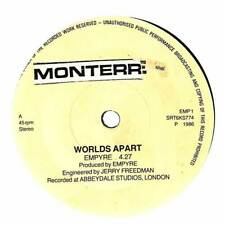 """Empyre - Worlds Apart  - 7"""" Record Single"""