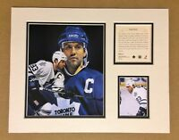 Toronto Maple Leafs DOUG GILMOUR 1997 NHL Hockey 11x14 Matted Lithograph Print