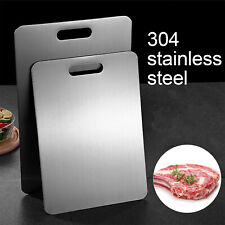 Stainless Steel Chopping Block Antibacterial Anti-mildew Kitchen Cutting Boards