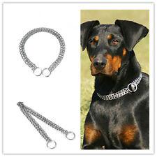 Pet Dog Choke Chain Necklace Choker Collar Strong Training Strap