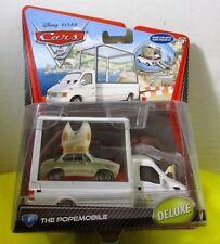 CARS 2 - POPEMOBILE - Mattel Disney Pixar