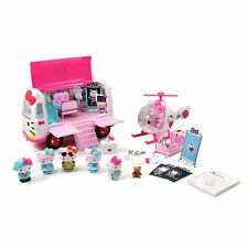 Hello Kitty Doctor Hospital Ambulance Helicopter Rescue Pretend Play Set Toy New