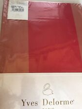 YVES DELORME BYZANCE POMPEI SATIN FITTED SHEET DOUBLE