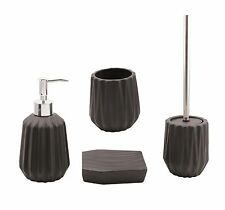 Blue Canyon Bath Accessory Sets with Toilet Brush & Holder