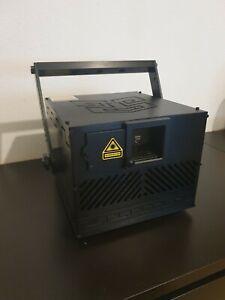 3W RGB Showlaser Club 3000mW 25kpps full diode ILDA DMX AUTO laser