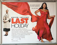 Cinema Poster: LAST HOLIDAY 2006 (Quad) Queen Latifah LL Cool J Timothy Hutton