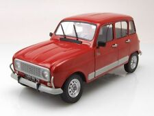 Renault 4 GTL Clan 1989 rot, Modellauto 1:18 / Solido