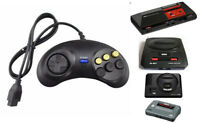 For Sega Mega Drive Genesis Master System Replacement 6 Button Controller Joypad