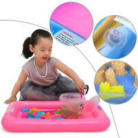 Hot Sale 60*45cm Inflatable Sand Tray Indoor Play No-Mess Clay Novelty Magic Toy