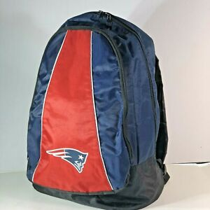 """Forever Collectibles New England Patriots NFL Backpack School Bookbag 17"""" x 12"""""""