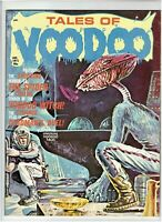 Tales of Voodoo Vol. 4 #1 Classic Horror Magazine Eerie Publications 1971