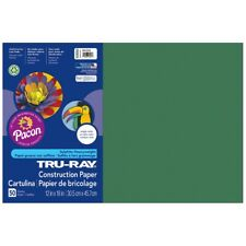 "Tru-Ray Super Heavyweight Fade-Resistant Sulphite Construction Paper - 12x18"","
